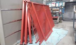 Powder coating - Pool fencing