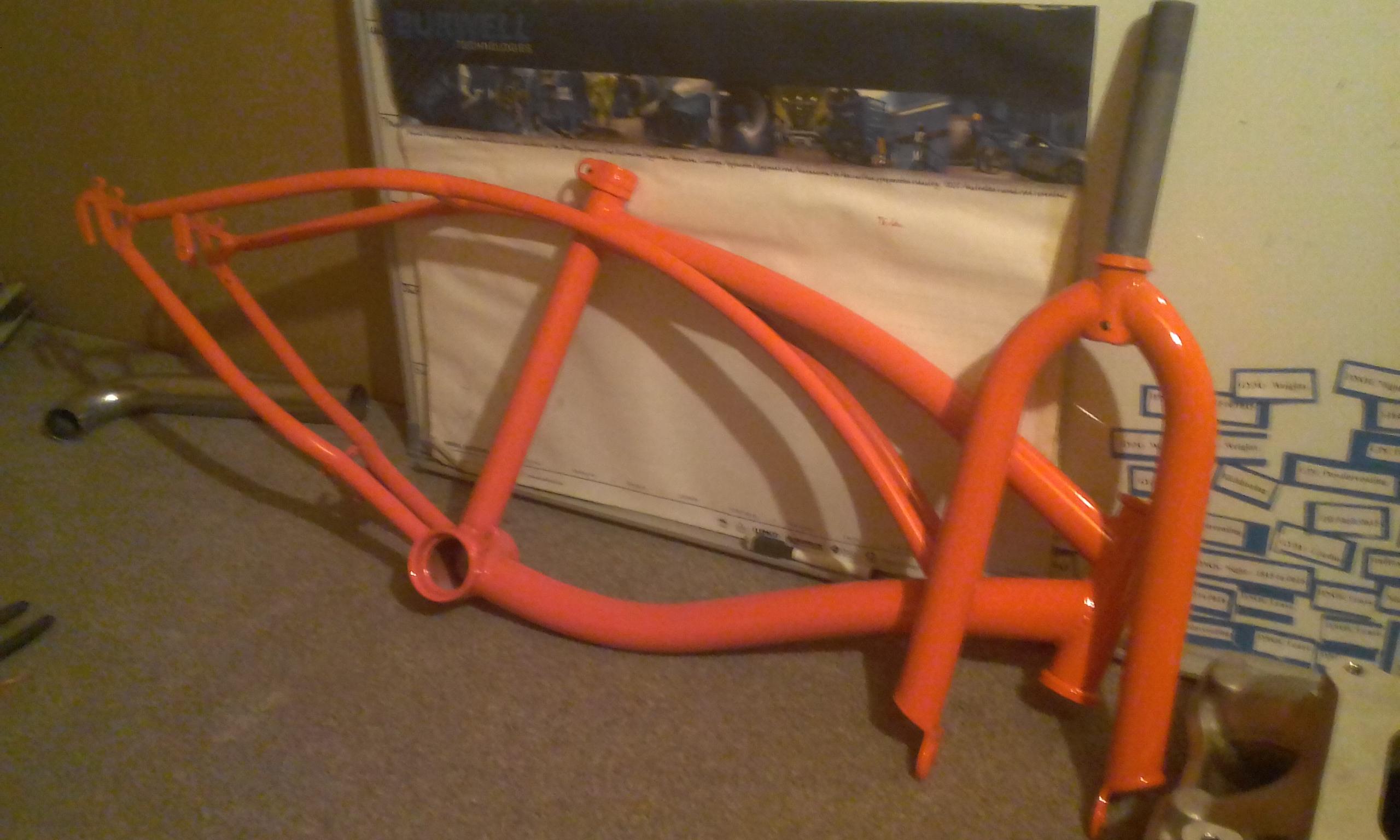 Powder coating - Oxytec RAL 2009 Traffic Orange