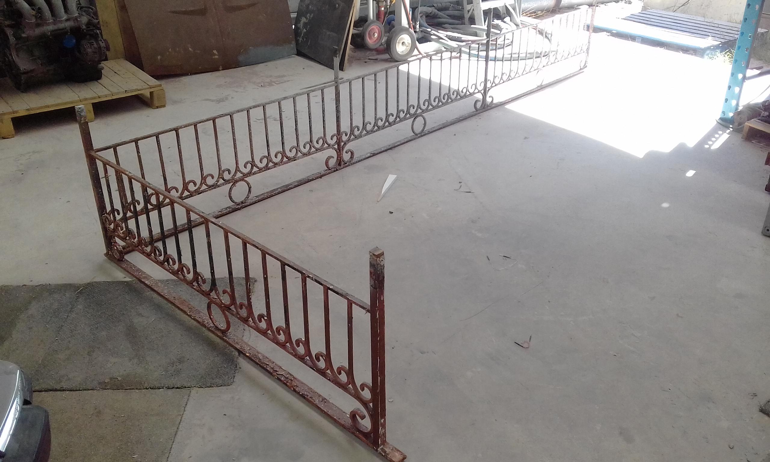 Iron Gates before blasting