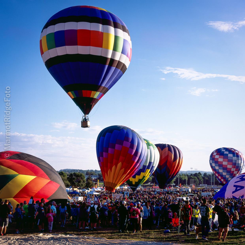 4X5 Camera at COS Balloons