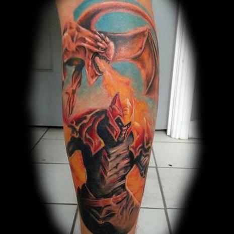 Dota 2 tattoo