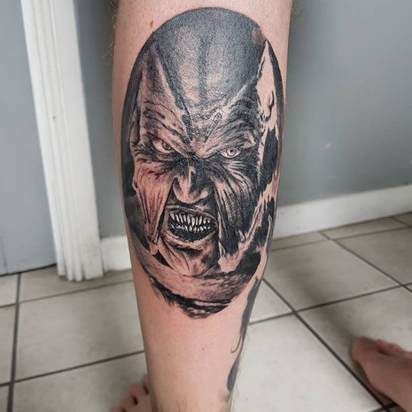 Jeepers creepers tattoo