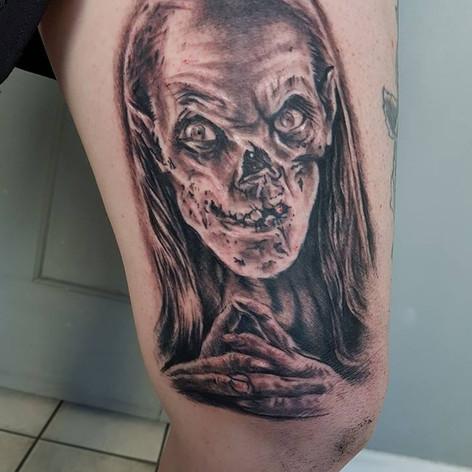 crypt keeper tattoo