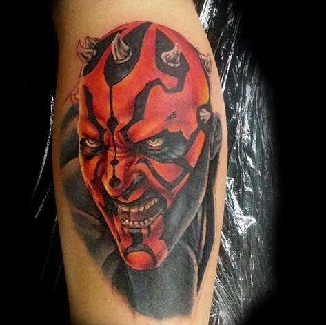 Darth Maul tattoo