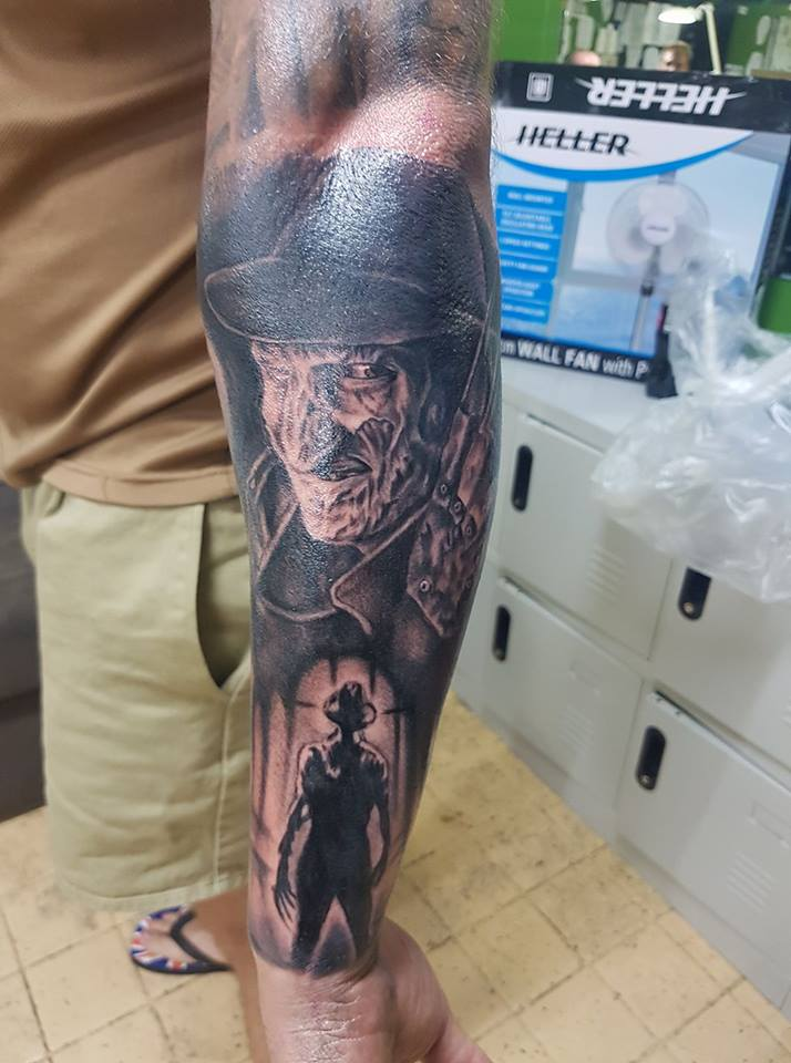 Freddy tattoo