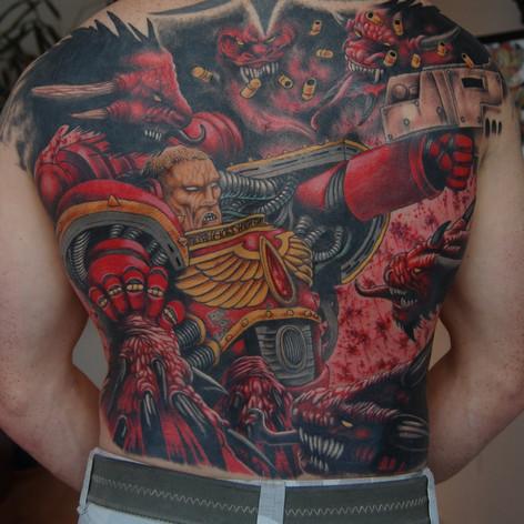 Warhammer tattoo