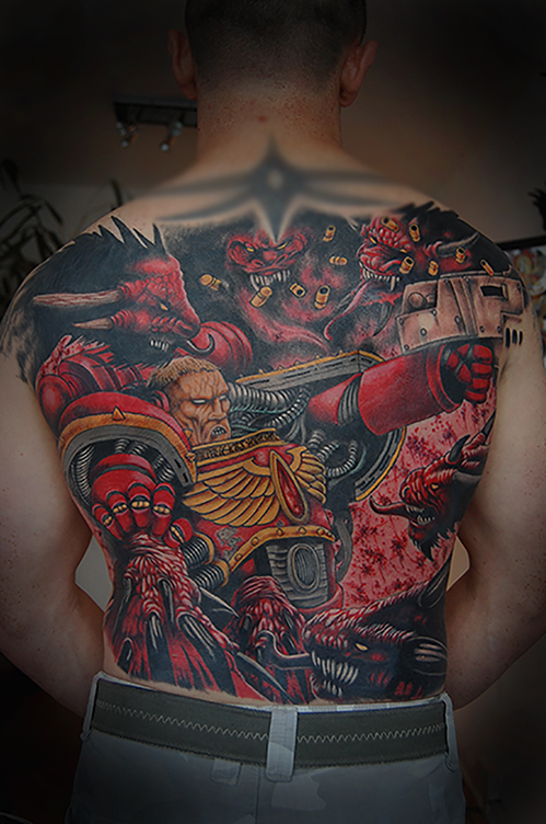 Warhammer tattoo
