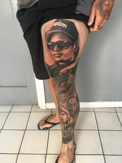 Hip Hop tattoo