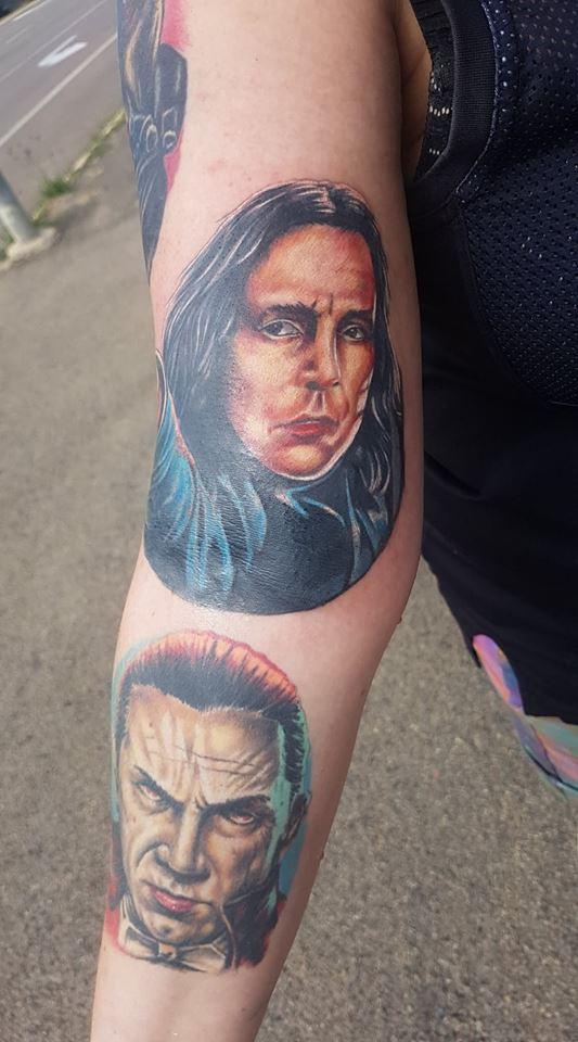 Serverus Snape tattoo