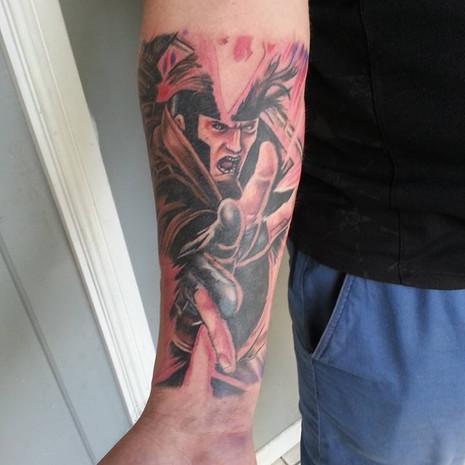 Gambit tattoo