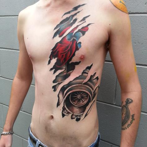 Rotary tattoo