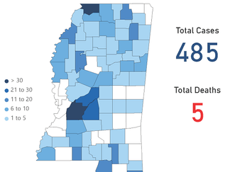 Mississippi COVID-19 Update: 108 new cases