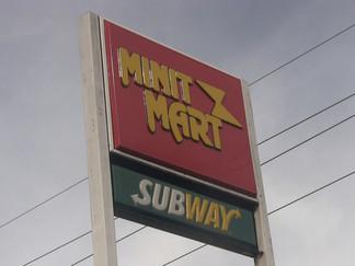 Minit Mart, armed robbery
