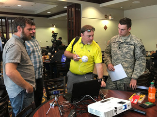 JROTC Learns About Cyberspace Security At USM
