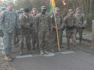 Camp Shelby Soldiers March A 10K To Donate Food To Hungry Families Across The Pine Belt