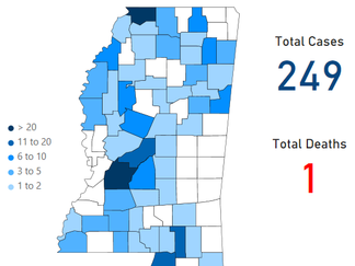 Mississippi COVID-19 Update: 42 new cases