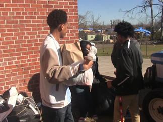 North Forrest High School donates supplies to those affected by the tornado