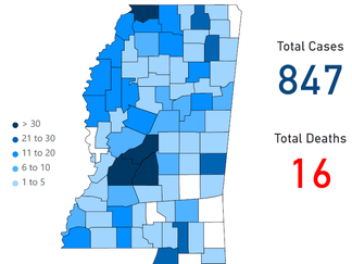 Mississippi COVID-19 Update: 89 new cases, two new deaths
