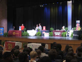 Columbia High School hosts its First College Signing Day