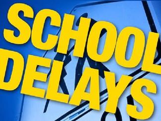 Mon, 4/3/17 School Delays