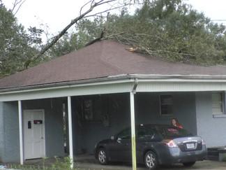 Petal receives EF-1 tornado