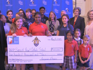 $500,000 Donation goes to Sacred Heart