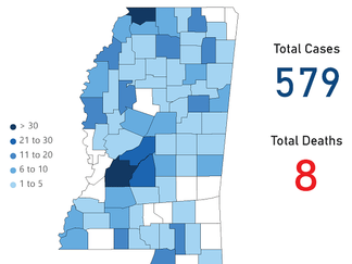Mississippi COVID-19 Update: 94 new cases, two new deaths