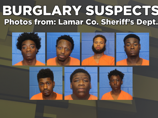 Nine People Arrested After Lamar County Cracks Down on Auto Burglaries. More Than 40 Charges