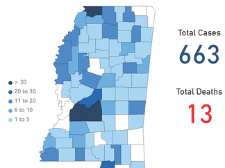Mississippi COVID-19 Update: 84 new cases, five new deaths