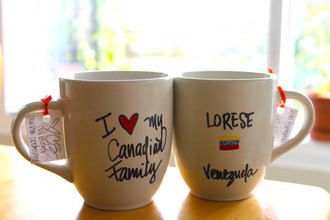 I love my Canadian Family