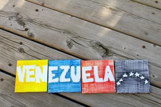 Venezuela 4 piezas