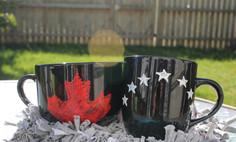 Black | Stars & Maple leaf