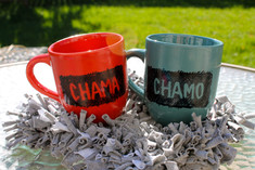 Red or blue | Chama / Chamo