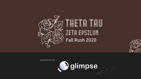 How Stony Brook University Theta Tau is Using Glimpse for Virtual Rush Events