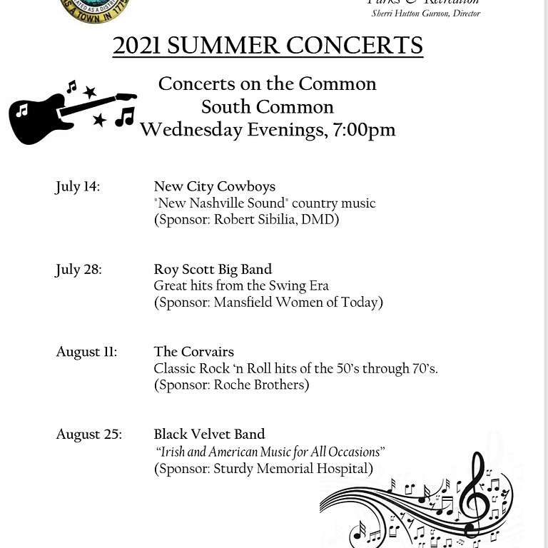 Mansfield Summer Concerts