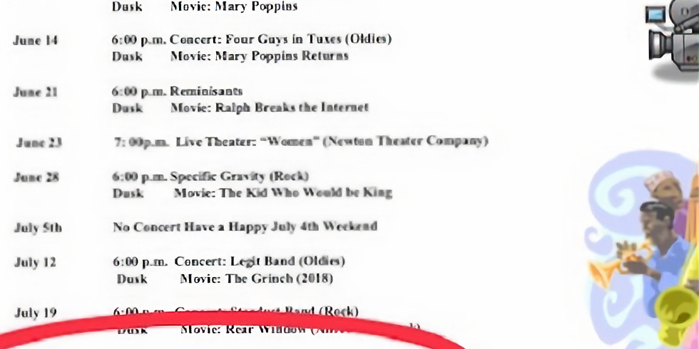 Hyde Community Center Summer Concert Series