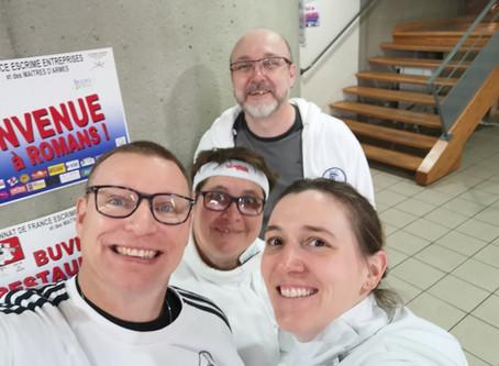 Championnat de France Entreprise à ROMANS SUR ISÈRE suite !