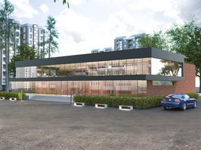 ARCHITECTURAL DESIGN FOR OFFICE CENTER 3000 sqm