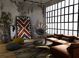 INDUSTRIAL LIVING INTERIOR DESIGN
