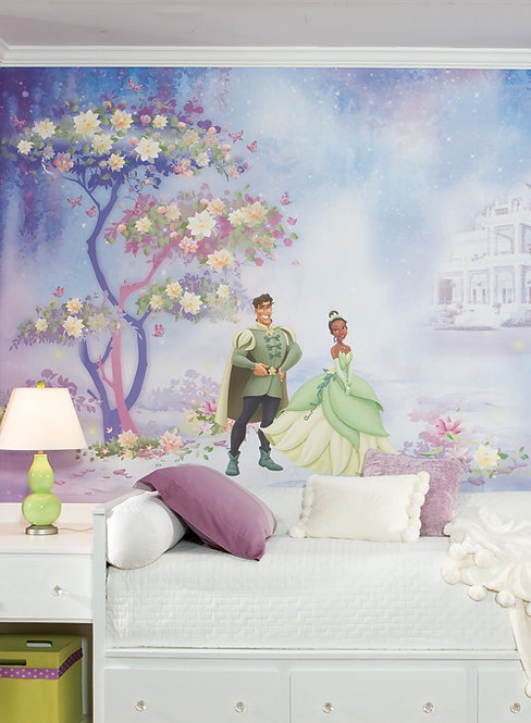 Princess and The Frog - Mural