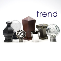 Trend Decorative Drapery Hardware
