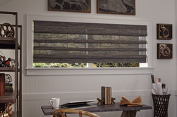 Manh Truc Woven Shade Hobbled with Valance