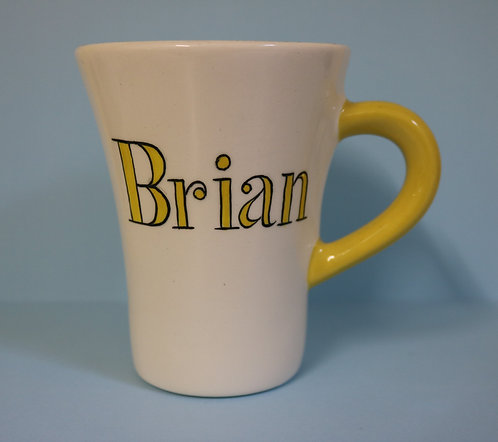 Flair Ceramic Mug - YELLOW