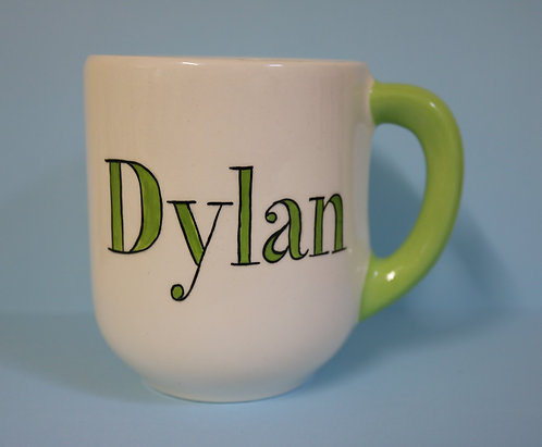 Capri Ceramic Mug - GREEN