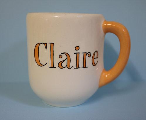 Capri Ceramic Mug - ORANGE