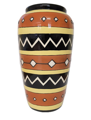 TALL MEXICAN VASE