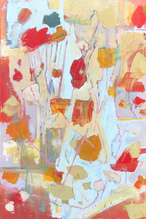 A Vague Impression of Red and Yellow Foliage