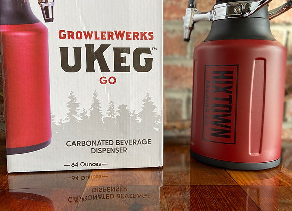 uKeg Go 64 Carbonated growler (chili)