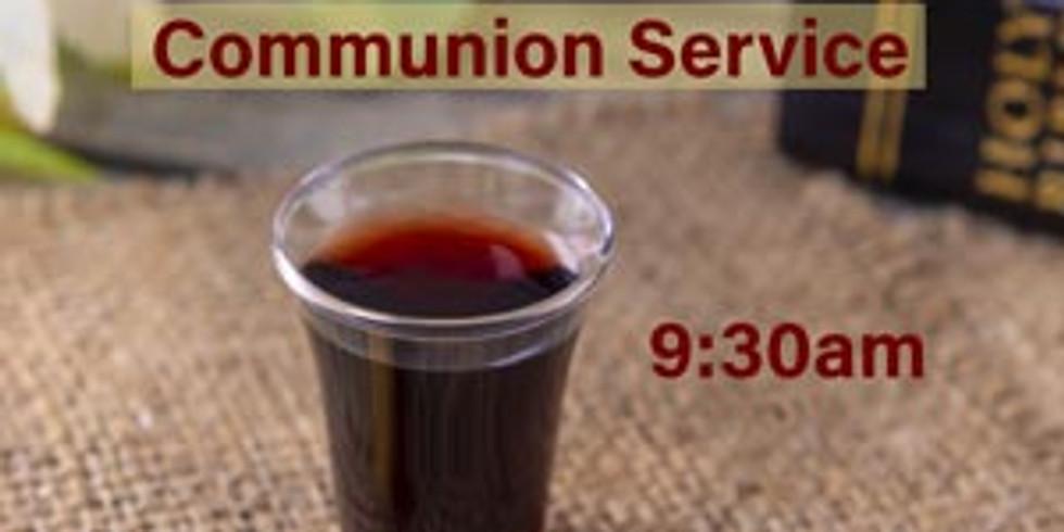 19th July Sunday 9:30am Communion Service 週日早上九点半聖餐崇拜