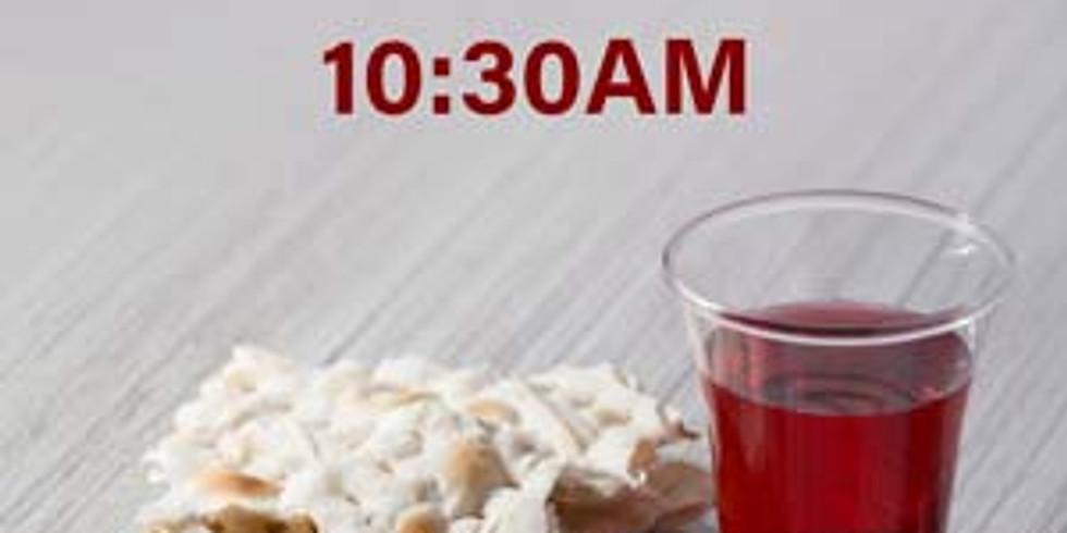 Sunday 10:30am Communion Service 週日早上十時半聖餐